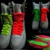 Шнурки флуоресцентные